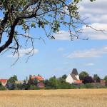 Blick auf Frankenhain