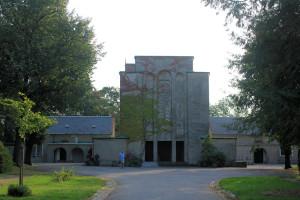 Krematorium auf dem Donatsfriedhof in Freiberg