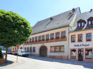 Haus der Kirche Geithain (ehem. Gasthof Zum goldenen Löwen)