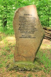 Gedenkstein Schlossberg Geringswalde