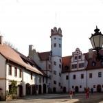 Glauchau, Schlosshof Schloss Forderglauchau