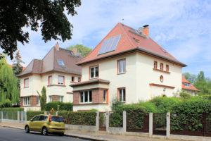 Wohnhäuser Ludwig-Beck-Straße 24 und 26 Gohlis