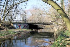 Gohliser Wehrbrücke Gohlis/Zentrum-Nordwest