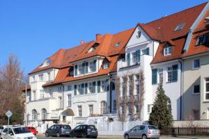 Wohnhäuser Kickerlingsberg 22 bis 26 Gohlis