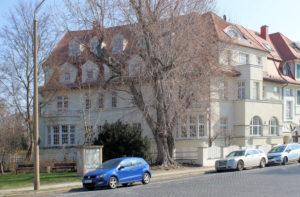 Doppelwohnhaus Kickerlingsberg 26/Poetenweg 25 Gohlis