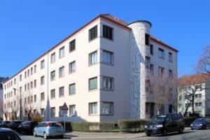 Wohnhaus Prellerstraße 53 bis 55/Erfurter Straße 1 Gohlis