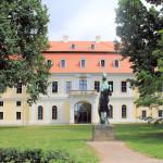Gestüt Graditz, Herrenhaus Parkseite