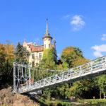 Grimma, Hängebrücke