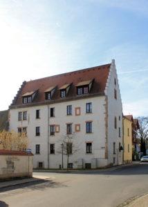 Hospital des Templerhofes Droyßig in Grimma