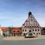 Der Markt in Grimma