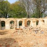 Herrenhaus Großzschepa, Frühjahr 2014, kurz nach dem Abriss