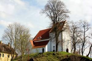 Am 5. Juli 2014 geöffnet - die Kirche in Höfgen bei Grimma