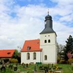 Die Kirche in Lindennaundorf