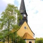 Die Kirche in Miltitz