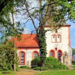 Die Kirche in Alt-Wiederitzsch