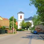 Die Erlöserkirche in Knauthain