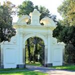 Das Adlertor im Kees´schen Park in Markkleeberg