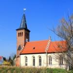Die Schlosskirche in Lützschena
