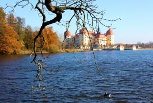 Das Jagdschloss Moritzburg