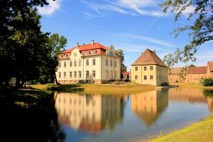 Altes und Neues Herrenhaus in Kahnsdorf im Leipziger Neuseenland