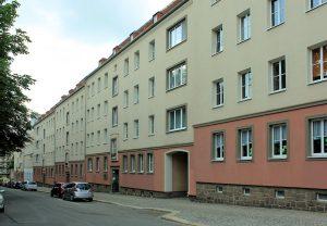 Wohnbebauung Gerhart-Hauptmann-Platz Kaßberg
