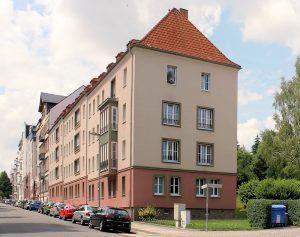 Wohnbebauung Agricolastraße 22 bis 26 Kaßberg