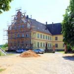 Herrenhaus Kössern, (Zustand Sommer 2014)