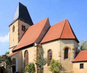 Die Kirche in Kreypau