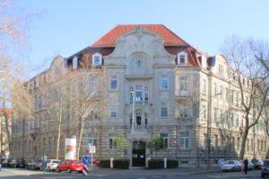 AZURIT Seniorenzentrum Palais Balzac Leipzig (ehem. Verwaltungsgebäude der Königlich-Preußischen Eisenbahndirektion Halle