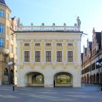 Alte Handelsbörse Leipzig, Ansicht Salzgässchen
