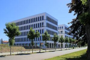 Bürogebäude auf der Alten Messe Leipzig