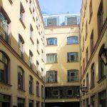 Haus Blauer und Goldener Stern Leipzig, Hof