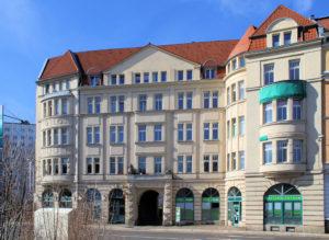 Wohnhaus Dufourstraße 8 Leipzig (ehem. Carolabad)