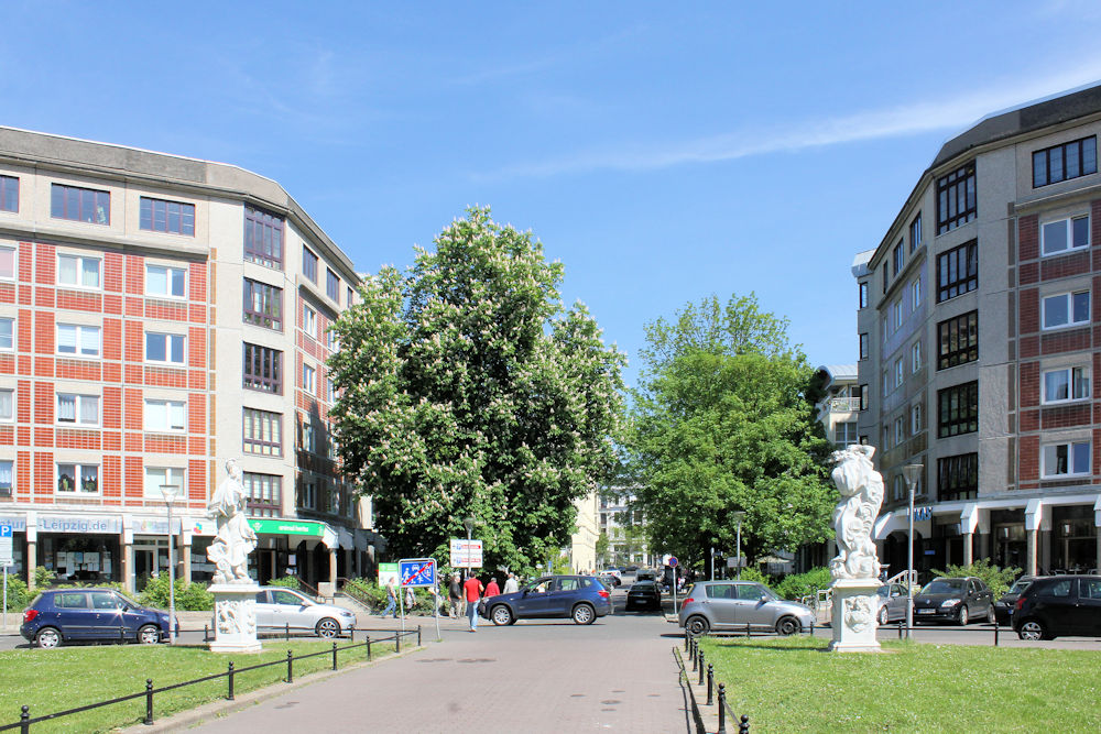 Wohnbebauung Dorotheenplatz Leipzig Zentrum West Stadt Leipzig Artikel Artikel Berichte