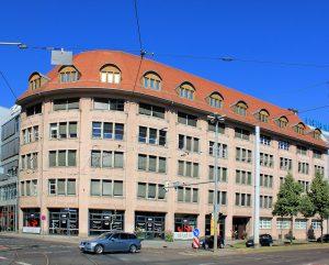 Geschäftshaus Friedrich-List-Platz Leipzig