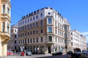 Wohnhaus Funkenburgstraße 2 Leipzig