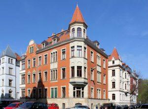 Wohnhaus Funkenburgstraße 25 Leipzig