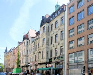 Wohnhäuser Gottschedstraße 11 und 13 Leipzig