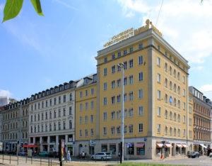 Wohn- und Geschäftshaus Leplaystraße 1 Leipzig