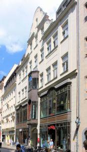 Der große Joachimsthal, Eingang von der Hainstraße