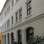 ehem. Buchners Hof Leipzig, Blick zur Klostergasse