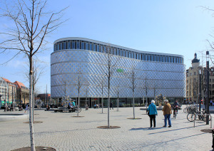 ehem. Konsument-Warenhaus Leipzig, Höfe am Brühl