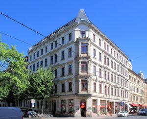 Wohnhaus Tschaikowskistraße 2 Leipzig