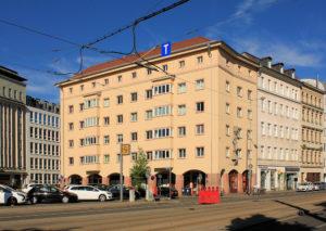 Wohn- und Geschäftshaus Johannisplatz 17 bis 19 Leipzig