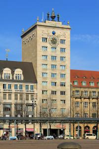 Krochhaus am Augustusplatz in Leipzig
