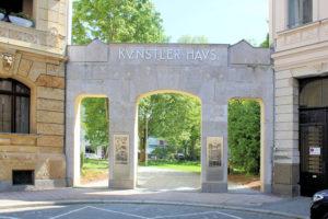 Portal des Künstlerhauses Leipzig