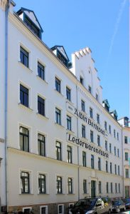 Lederwarenfabrik Albin Berlepsch Leipzig