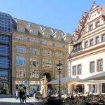 Mädler-Passage Leipzig, Eingang Grimmaische Straße