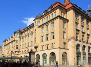 Messehaus Handelshof Leipzig, Ansicht Naschmarkt