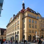 Messehaus Handelshof Leipzig, Ansicht Grimmaische Straße